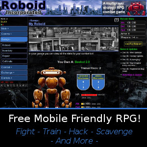 Roboid Free Browser RPG