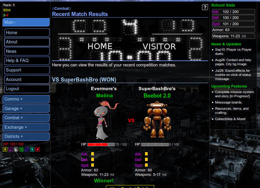 Roboid Online - About Roboid and Screenshots - Free